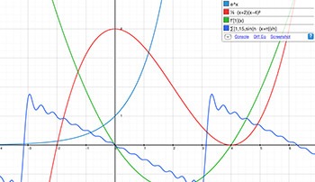 html5 graphing application