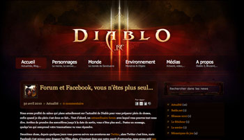 diablo.be screenshot